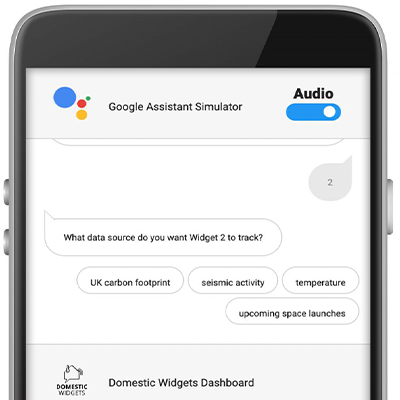 Google Assistant Simulator